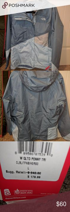 The North Face Triclimate Shell - Size Large New with tags - breathable, waterproof shell The North Face Jackets & Coats