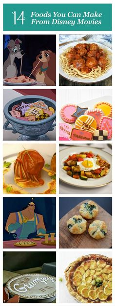 While we can't jump into the screen to hang out with our favorite characters, there is a way to bring the magic of Disney to your kitchen table. You can make these Disney recipes, inspired by classic films, any day of the week. (We recommend pairing them with a viewing!)