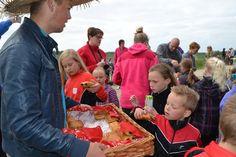 Hemelvaart: warme appelflappen bij de picknick