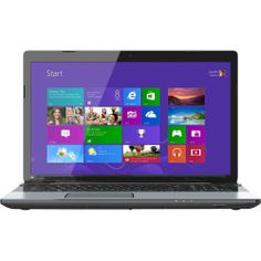 Toshiba Satellite S75-A7270 PSKN2U-00900C 17.3-Inch Laptop (Ice Silver in Brushed Aluminum)