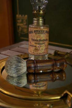 Cocobolo Shaving Brush by FatRiverTradingCo on Etsy, $85.00