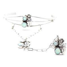 Opal Navajo Slave Bracelet