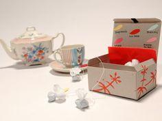 Manualidades y Artesanías | Caja con variedad de té | Utilisima.com