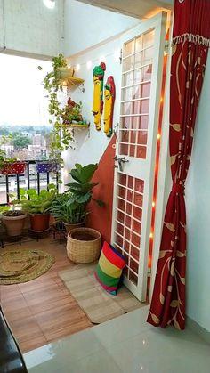 Small Balcony Decor, Small Balcony Design, Balcony Ideas, Modern Balcony, Outdoor Balcony, Outdoor Privacy, Home Garden Design, Home Room Design, Home Interior Design
