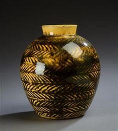 Vare: 4328506 Kähler. Vase af lertøj