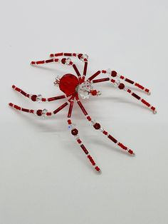 Sweater Pins: Spiders in Bronze Silver or GunMetal- REDUCED PRICE Copper
