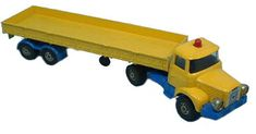 #diecast #Corgi 1164 Berliet Truck and Trailer - Dolphinarium new or updated at www.diecastplus.info