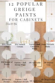 Cabinet Paint Colors, Kitchen Cabinet Colors, Painting Kitchen Cabinets, Kitchen Redo, Kitchen Paint, Kitchen Remodel, Warm Paint Colors, Paint Colors For Home, House Colors