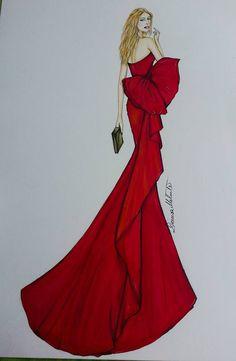 fashion-illustration Georges Hobeika, Aurora Sleeping Beauty, Disney Princess, Disney Characters, Illustration, Fashion Design, Illustrations, Disney Princes