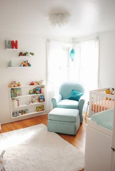 Adorable nursery for @Beverly Weidner's twins!