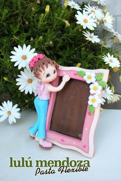 1 million+ Stunning Free Images to Use Anywhere Cute Polymer Clay, Polymer Clay Dolls, Polymer Clay Creations, Clay Crafts, Diy And Crafts, Crafts For Kids, Photo Frame Decoration, Clay Design, Tea Art