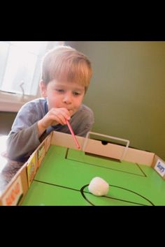 Table Top Soccer 20 After-School Activities That Are Actually Fun Oral Motor Activities, School Age Activities, Fun Activities, Sports Activities For Kids, Soccer Birthday, Soccer Party, Soccer Theme, Sport Theme, Sports Party