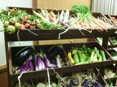 The majority of this produce was grown on site!