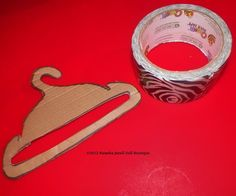 Natasha Janell Doll Boutique: How to make doll hangers for your 18 inch American girl doll Girl Doll Clothes, Doll Clothes Patterns, Doll Patterns, American Girl Crochet, American Girl Diy, American Girl Accessories, Doll Accessories, Doll Crafts, Diy Doll