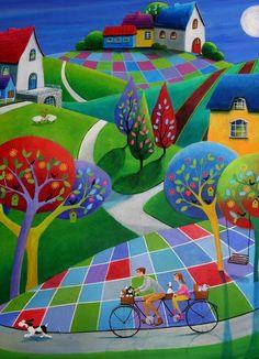GREAT colors, Folk Art