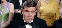 "George Lazenby as James Bond in 1969's ""On Her Majesty's Secret Service""."