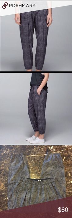 Lululemon workout parachute pants! ✨✨ These are like new! Only worn once, weren't really my style! Love to find them a new home! Make me an offer! lululemon athletica Pants Track Pants & Joggers