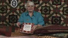 machine quilting in sections - YouTube