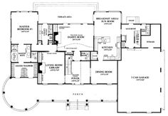 Colonial Farmhouse Plantation Southern Victorian House Plan 86192