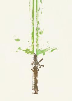 Lightsaber by borsukart on deviantART