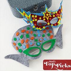 Kid's Crafts: Alien Superhero Mask Craft Kit in Arts & Crafts