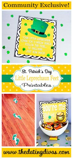 Fun St. Patrick's Day Printables!