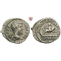 Römische Kaiserzeit, Septimius Severus, Denar 203, ss-vz: Septimius Severus 193-211. Denar 20 mm 203 Rom. Kopf r. mit Lorbeerkranz… #coins