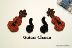 Guitar or violin and music note charm    ♥ Subscribe YouTube channel: https://www.youtube.com/user/ElegantFashion360 ♥ Sign up for Newsletter: http://elegantfashion360.com Like, comment, and share!