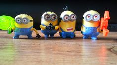 Despicable Me 4 Minions McDonald's Happy Meal Toys review