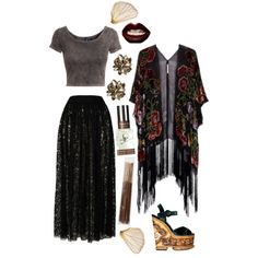 "I think my style would be considered ""Bohemian Goth"" -TylerMarie"