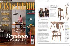 Casa e Jardim, peças by StudioGud! #press #casaejardim #cancan #bolsa #kundera  #wewood