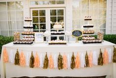 I love the Dessert table.