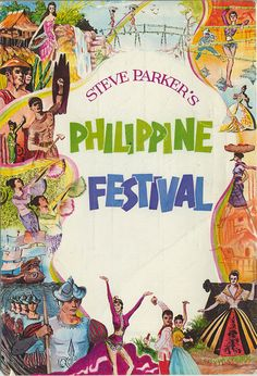 Dunes Las Vegas Philippines Festival Postcard 1960s