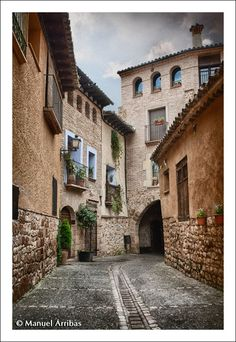 Alquézar  Huesca  by  Manuel  Arribás