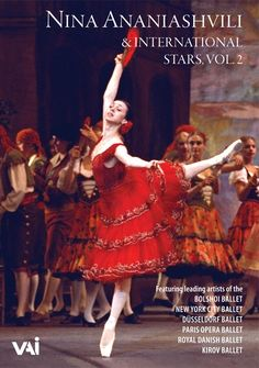 Nina Ananiashvili & International Stars, Vol.2 [DVD ] A gala was presented in Japan in 1993. The performances on this second volume of Nina Ananiashvili and International Stars are taken from that triumphant return engagement.