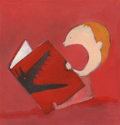 goawayimreading: Olivier Tallec (1970) a french illustrator.