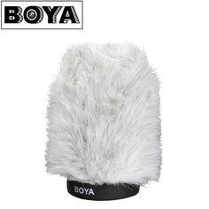 BOYA Furry Outdoor Interview Windshield Muff for Shotgun Capacitor Microphones Shotgun, Interview, Audio, Photography, Outdoor, Accessories, Outdoors, Photograph, Photo Shoot