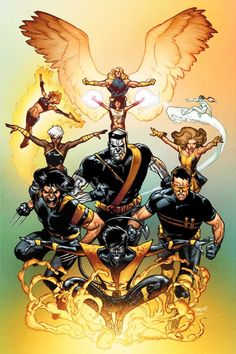 The Ultimate X-Men by Stuart Immonen.