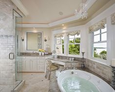 Traditional Bathroom Painted Doors Design, Pictures, Remodel, Decor and Ideas - page 3