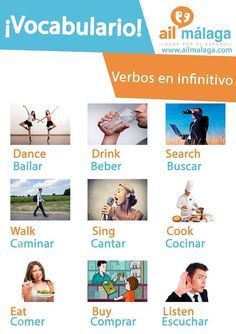 #Verbs in Spanish are part of the basics you should know in #Spanish, make sure that you know all of them :) #LearnSpanish #SpanishSchool #SpanishVocab