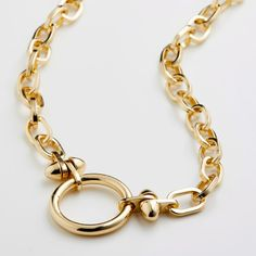 Necklace : Affection : Gold Plated - Pilgrim