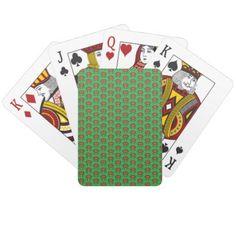 Pretty Poinsettia Playing Cards - holidays diy custom design cyo holiday family