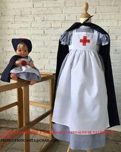 Disfraz enfermera de la casita de mitos rocas
