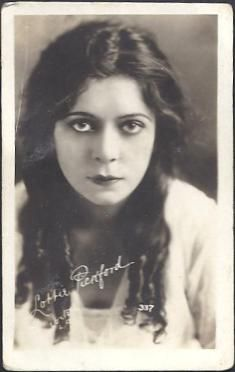 Lottie Pickford (June 9, 1893 – December 9 1936) was a Canadian-born silent film actress, and socialite. She was the sister of fellow actress Mary Pickford and actor Jack Pickford. One of her best known roles was in The Diamond from the Sky directed by William Desmond Taylor in 1915. Pickford's career is often overshadowed by that of her siblings and though she was a notable figure in the 1920s, her films and role in the Pickford acting family is now largely forgotten.