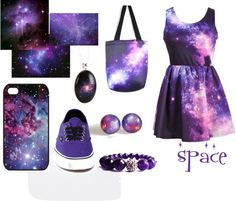 """space"" by margjer ❤ liked on Polyvore"