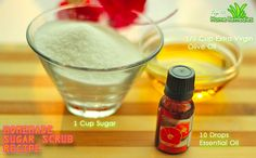 Prev post1 of 2Next Here's a great natural way to pamper your skin- a homemade sugar scrub. The combination of oil and sugar in this recipe exfoliates your skin, seals in moisture, reduces clogged pores, removes fine lines, and leaves your skin smooth and soft. Regular exfoliation allows face masks and other nourishing creams to