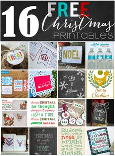 Free Printable Gift Tags {Printables Blog Hop} - Yellow Bliss Road