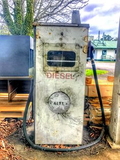 Diesel Pump I came across a deserted gas station the other day. This was the old diesel pump. #stusroadtrips #photo #photooftheday #picture #photograph #instagood #newzealand   #waikato #clouds #myshot #old #rust #empty #decay #unused #oldtime #abadoned #abandonedplaces #derelict #lostplaces