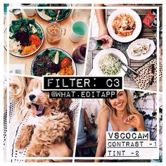 Paid filter ❕ bright, natural & warm coloured filter! works especially well on brown & orange – FREE ALTERNATIVE: A6 or C1 (with higher temperature)