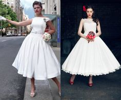 dresses - discover gorgeous vintage and rockabilly styles 25 Ideas Rockabilly dresses and dresses in general are totally trendy in 2015 and continue to fascinate ladies of all ages! These gorgeous dresses usually . 50 Style Dresses, 50s Dresses, Vintage Dresses, Fashion Dresses, Fashion 2018, Choker Dress, Bustier Dress, Tulle Dress, Robes Rockabilly